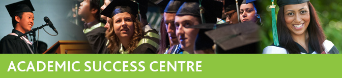 Academic Success Centre Tutors